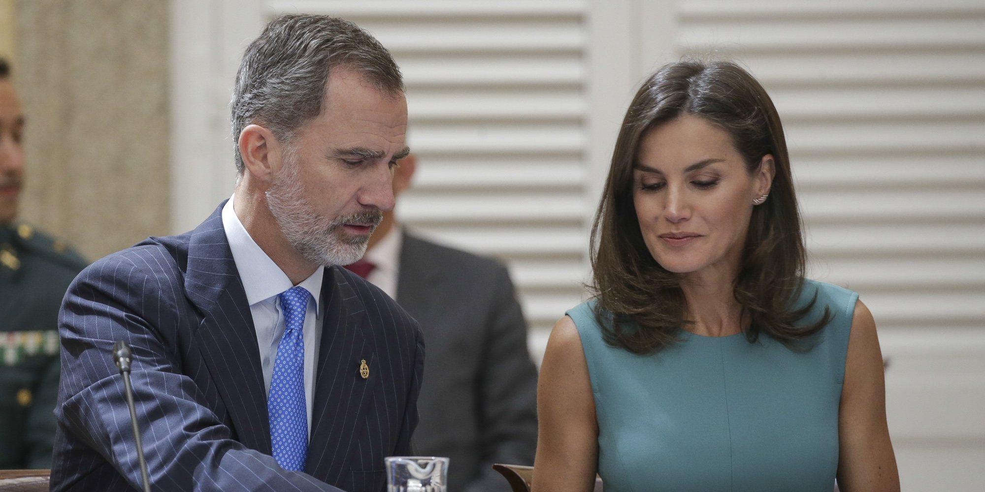 El orgullo del Rey Felipe al hablar de la presencia de Leonor y Sofía en los Princesa de Asturias 2019
