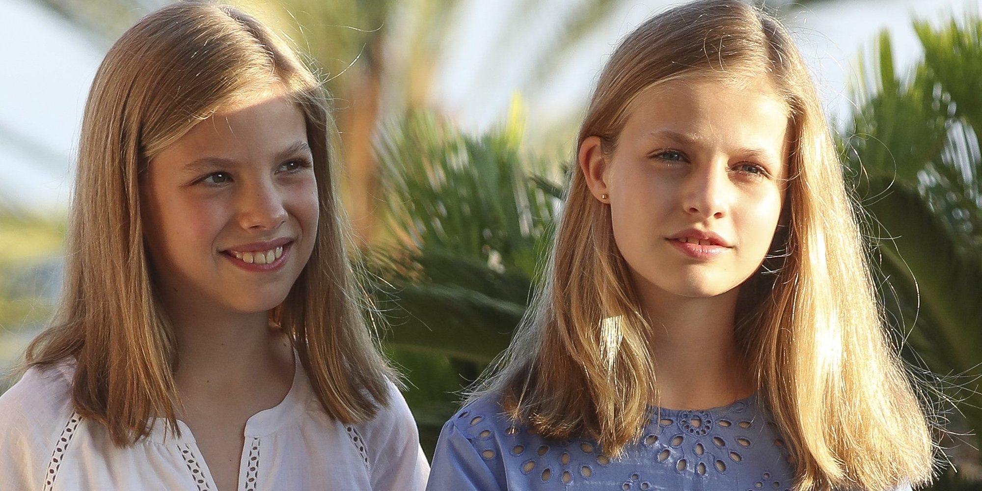 La Princesa Leonor y la Infanta Sofía repiten campamento de verano en Estados Unidos