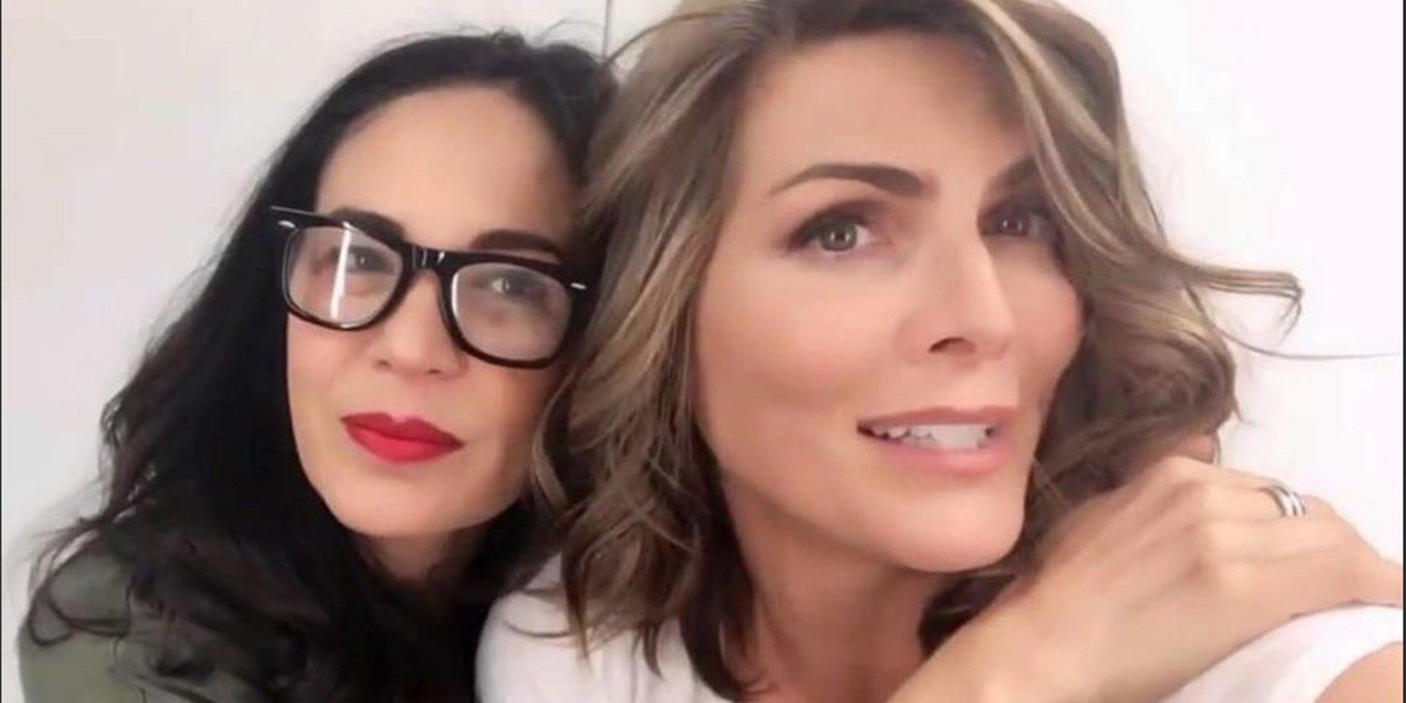Las presentadoras mexicanas Joe Andrade y Montserrat Oliver salen del armario en directo por el Orgullo 2019