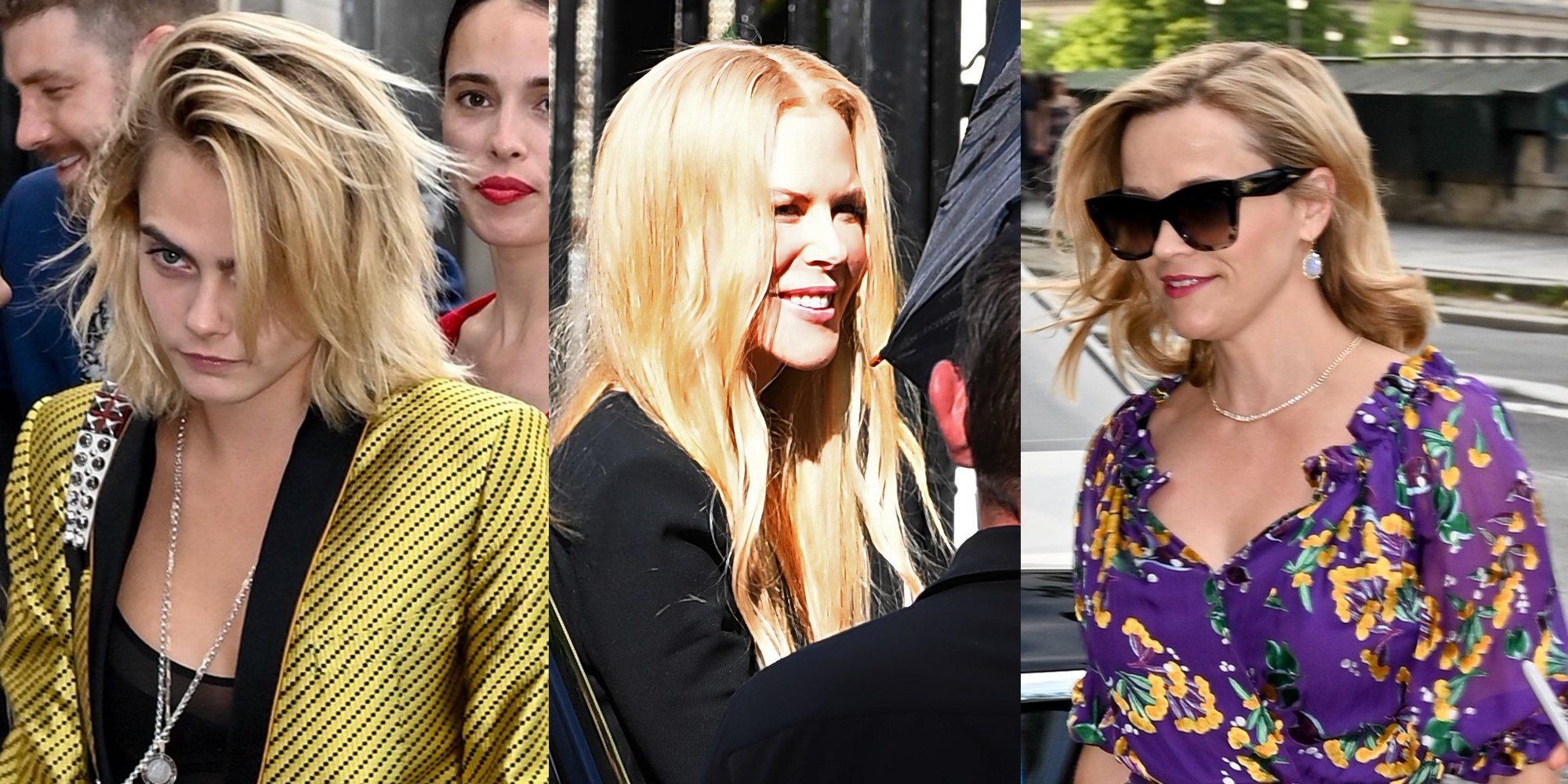 Nicole Kidman, Reese Whiterspoon o Cara Delevingne, invitadas estrella de la boda de Zoë Kravitz