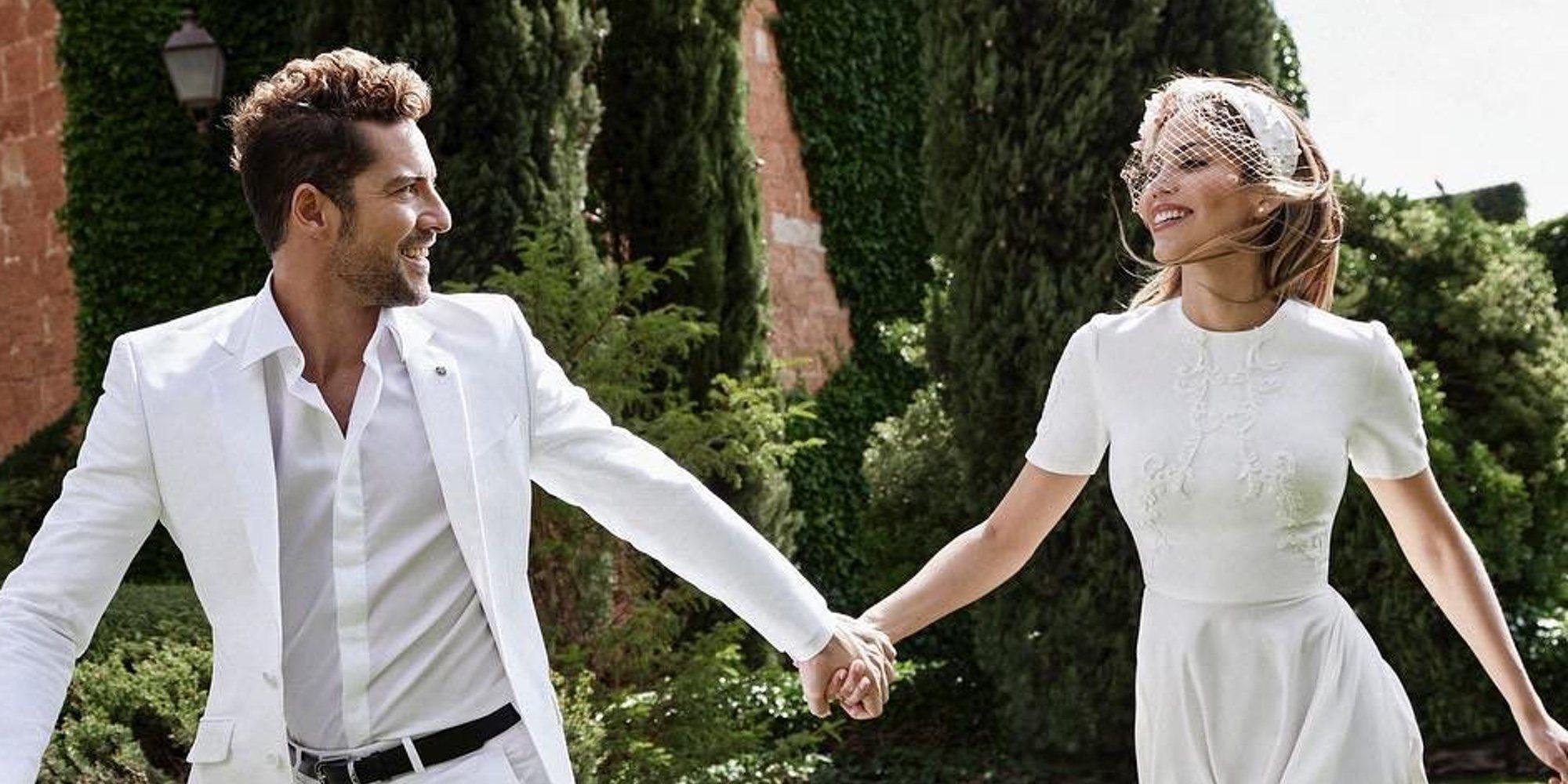 """David Bisbal y Rosanna Zanetti celebran su primer año casados: """"Contigo solo existe La Paz"""""""