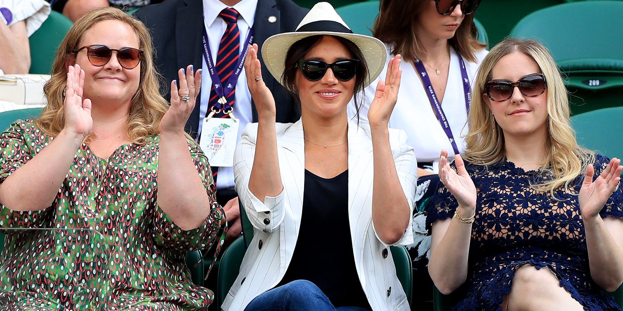 Meghan Markle reaparece en Wimbledon 2019 para ver jugar a su gran amiga Serena Williams
