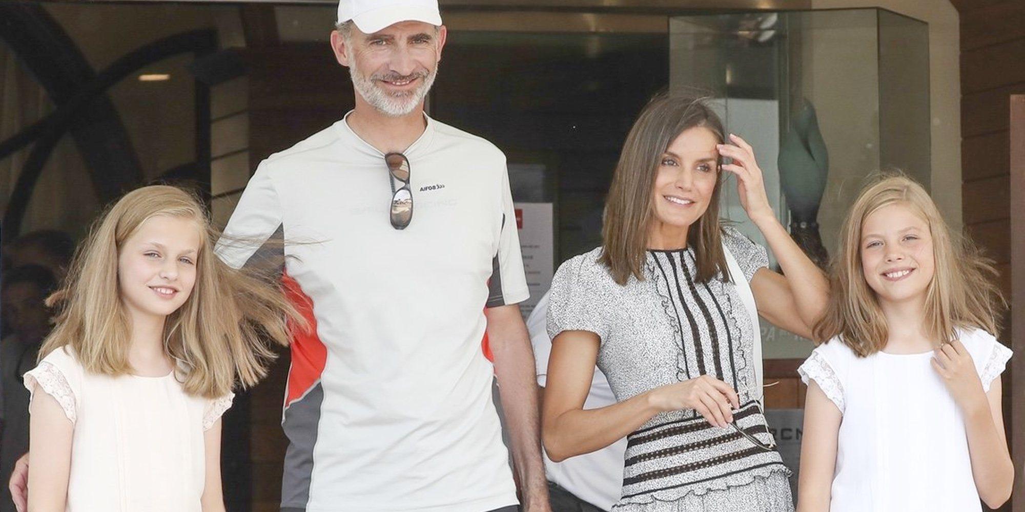 El motivo por el que los Reyes Felipe y Letizia, la Princesa Leonor y la Infanta Sofía llegarán a Mallorca separados