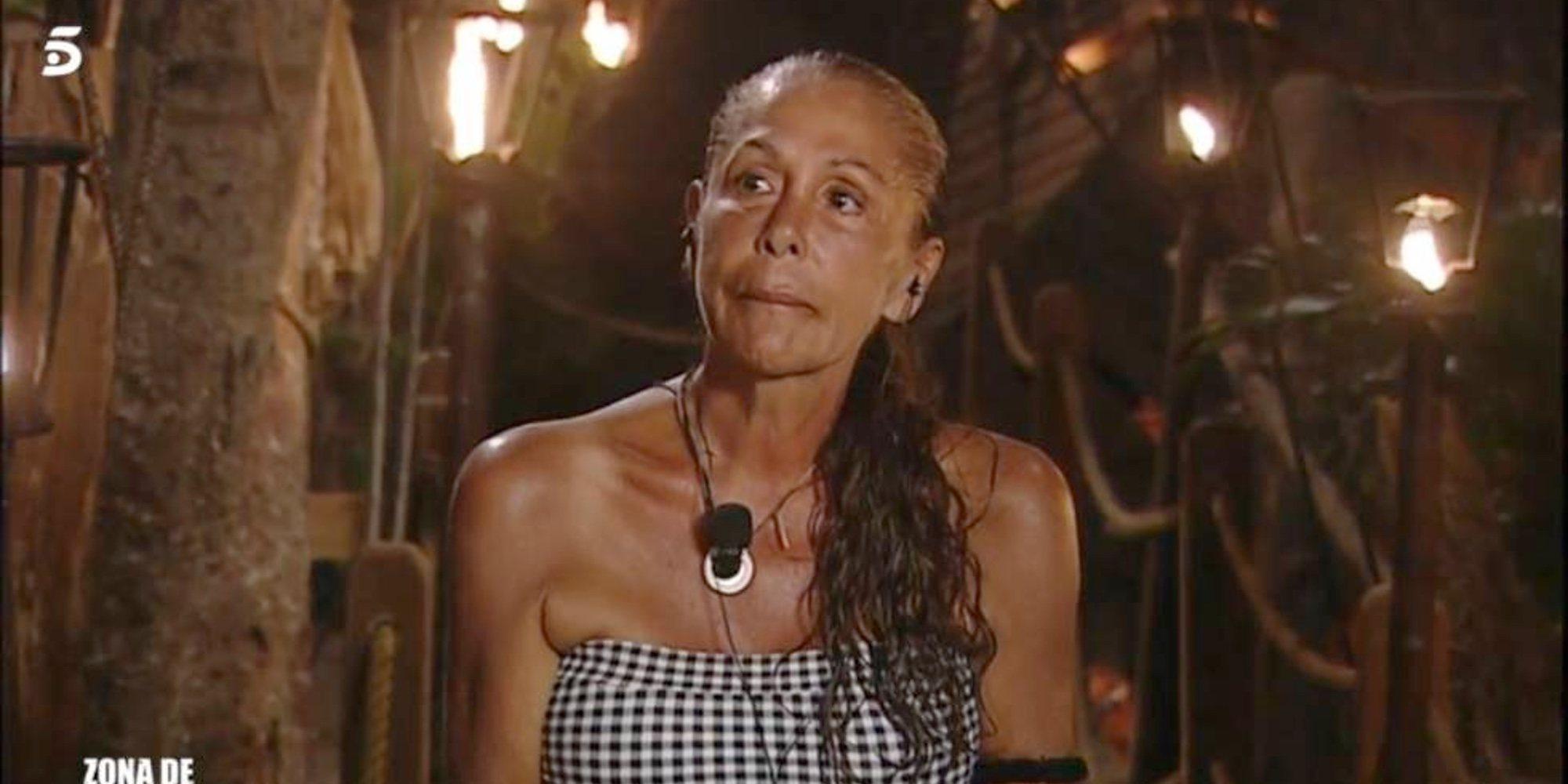 Raquel Bollo habla del posible problema de salud de Isabel Pantoja por el que ha sido evacuada de 'SV 2019'