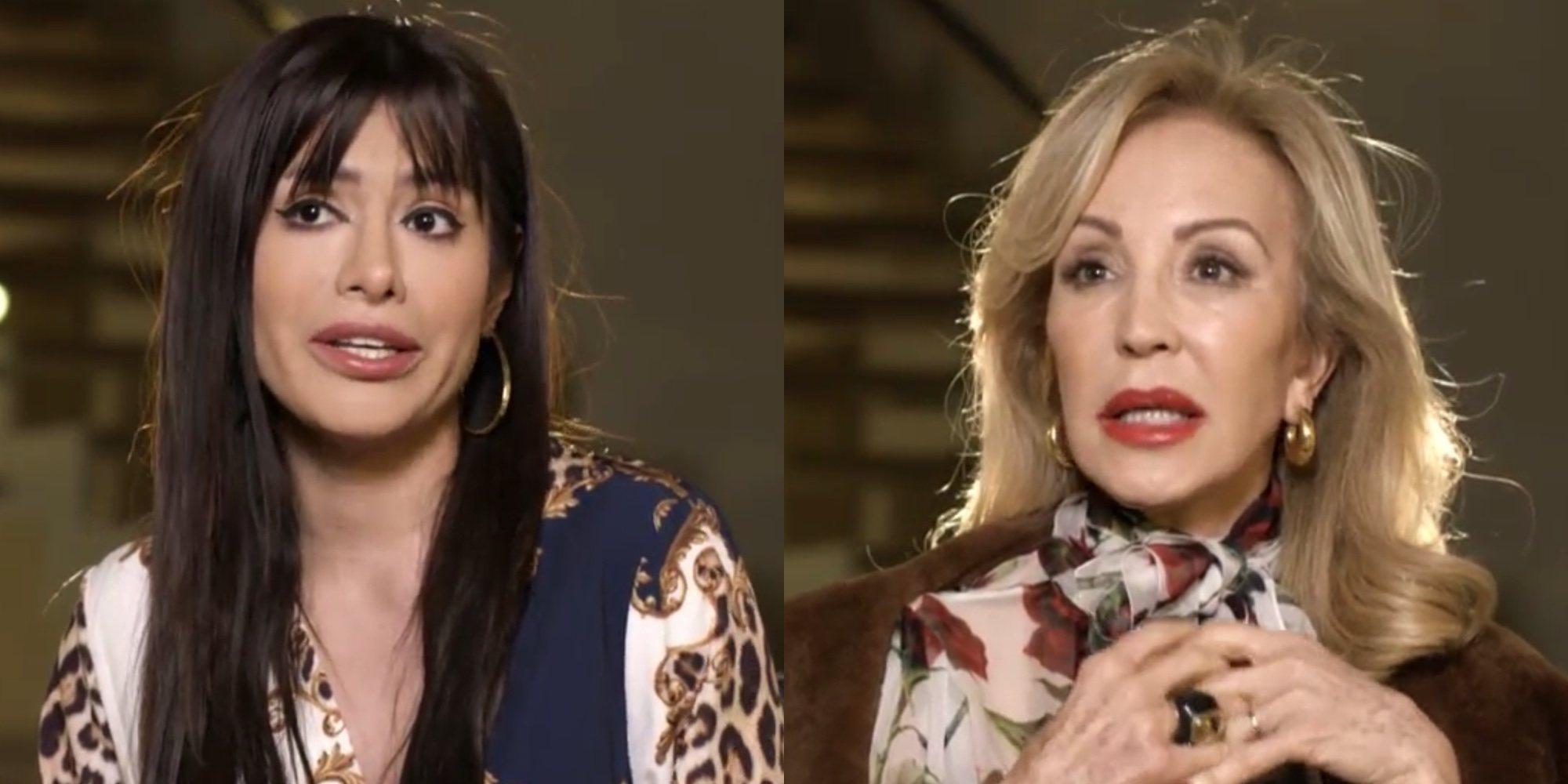 Carmen Lomana y Miriam Saavedra protagonizan su mayor encontronazo en la última cena de 'Ven a cenar conmigo'