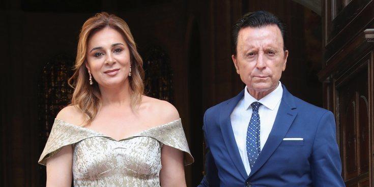 José Ortega Cano y Ana María Aldón, entre los invitados a la boda de Dámaso González y Miriam Lanza
