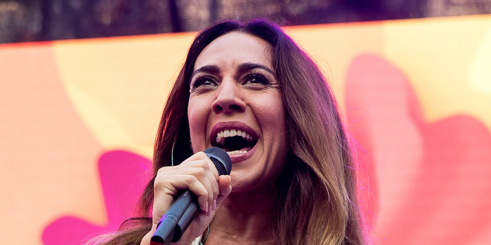 La divertida conexión de Mónica Naranjo desde el Orgullo 2019 con Jorge Javier Vázquez en 'Sábado Deluxe'