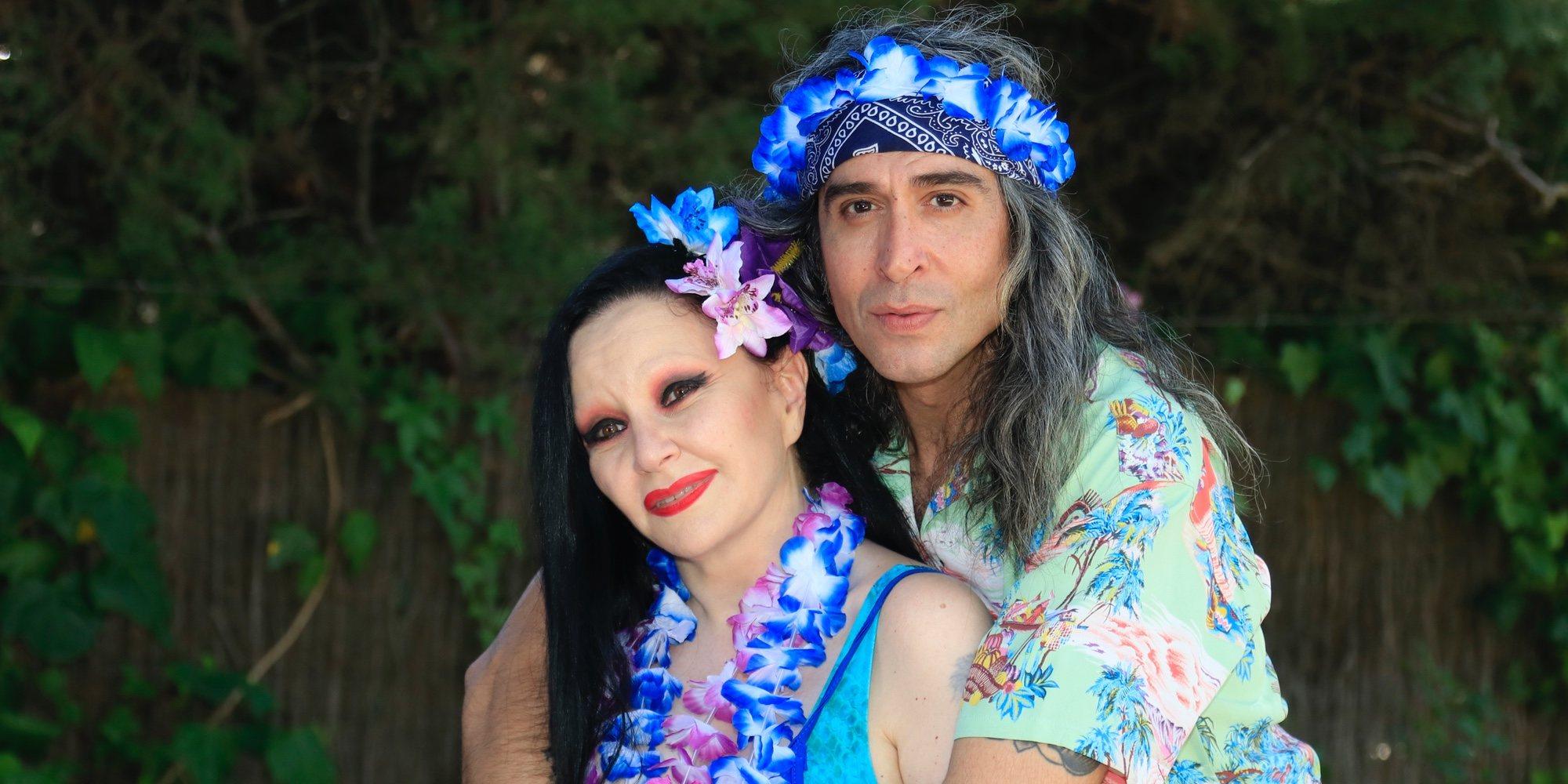 Mario Vaquerizo celebra su 45 cumpleaños con una gran fiesta hawaiana