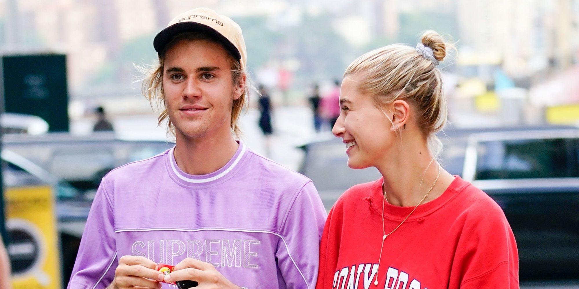Las bonitas palabras de Hailey Baldwin a Justin Bieber en su primer aniversario de bodas