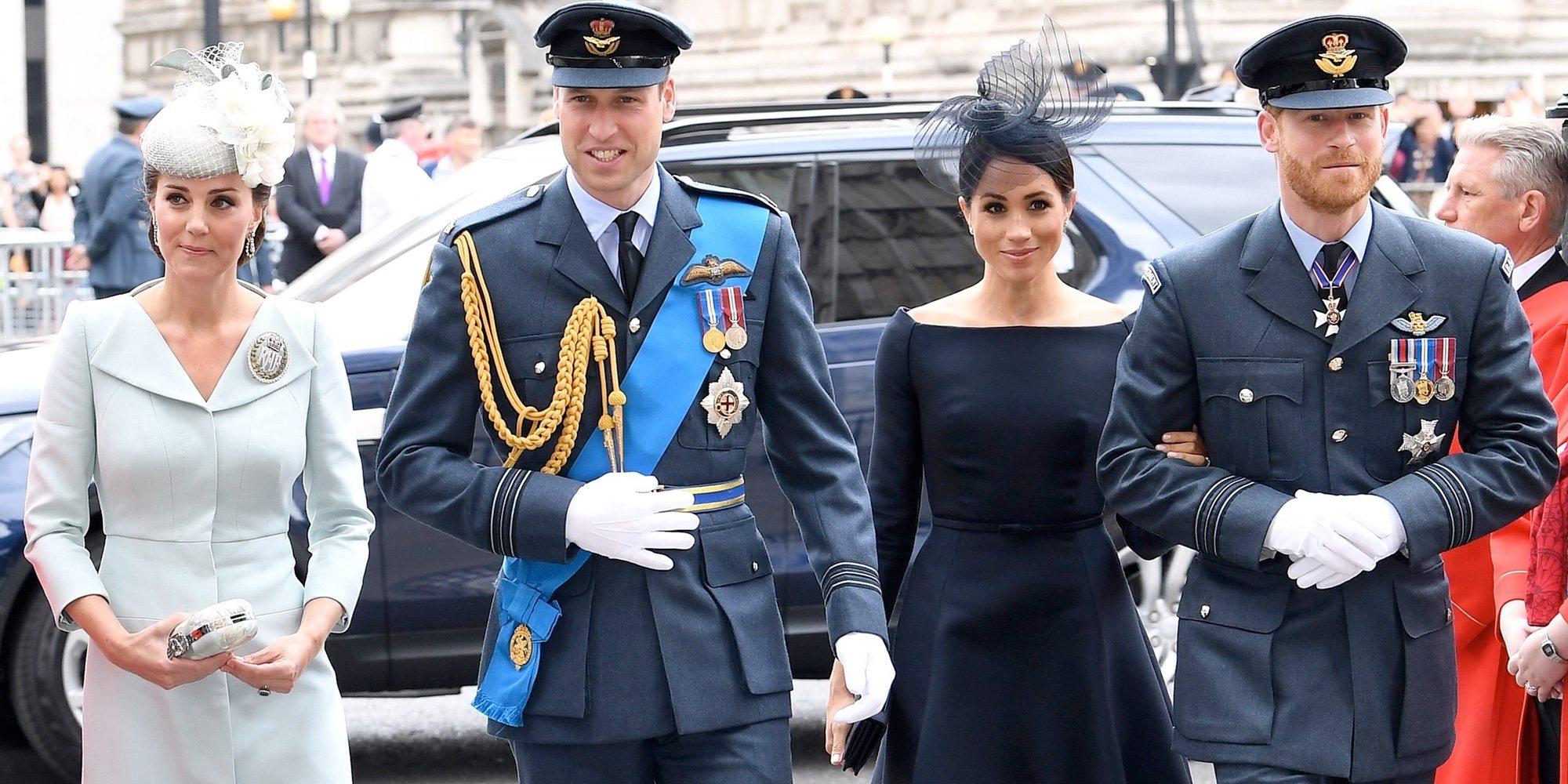 El disgusto que el Príncipe Harry y Meghan Markle han dado al Príncipe Guillermo y Kate Middleton