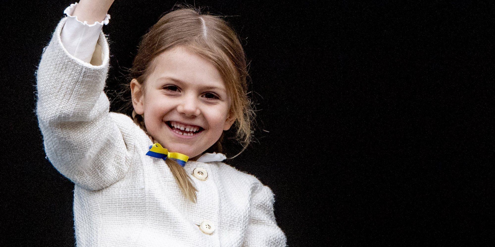 Estela de Suecia, una princesa heavy metal en el concierto de Metallica junto a sus padres Victoria y Daniel de Suecia