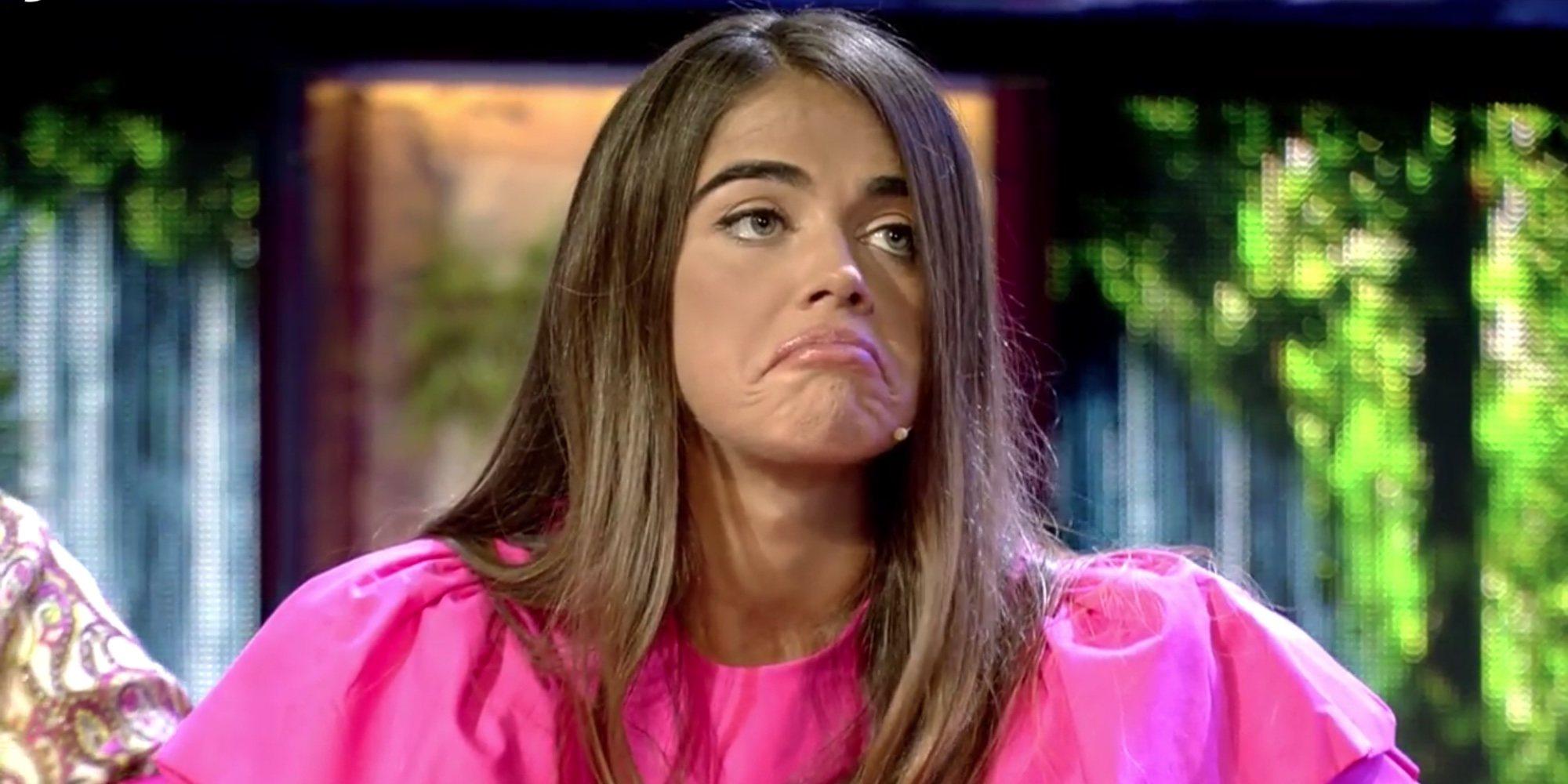 Violeta Mangriñán, muy enfadada con el comportamiento de Fabio Colloricchio en 'Supervivientes 2019'