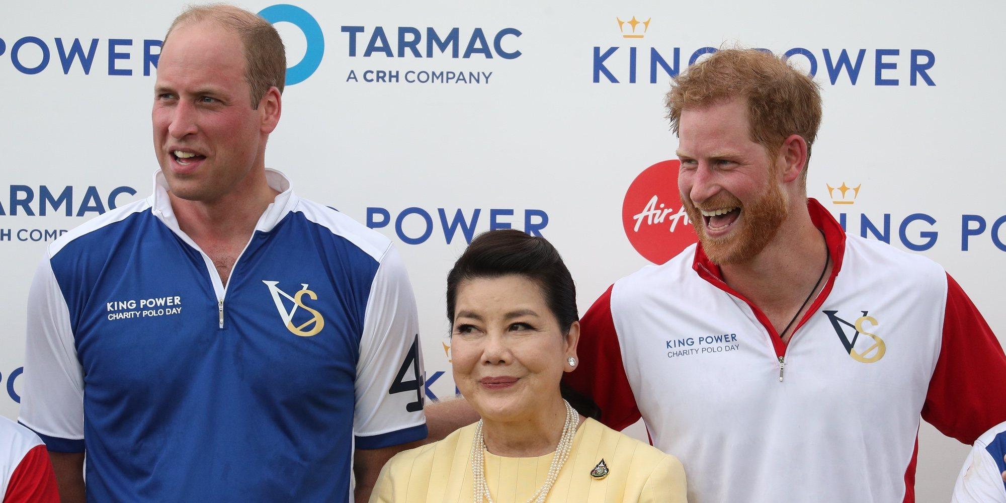 El Príncipe Guillermo y el Príncipe Harry, rivales pero amigos en el partido que unió a Kate Middleton y Meghan Markle