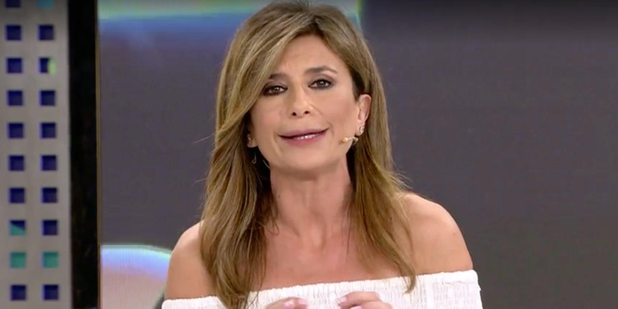 """La tensión entre Gema López y Chelo García Cortés: """"Si ella considera que es valiente, que lo demuestre"""""""