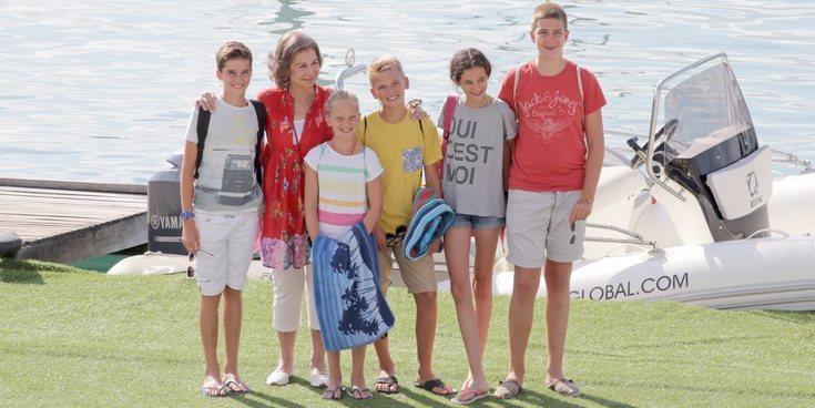 El viaje secreto de los hijos de la Infanta Cristina e Iñaki Urdangarin a Mallorca