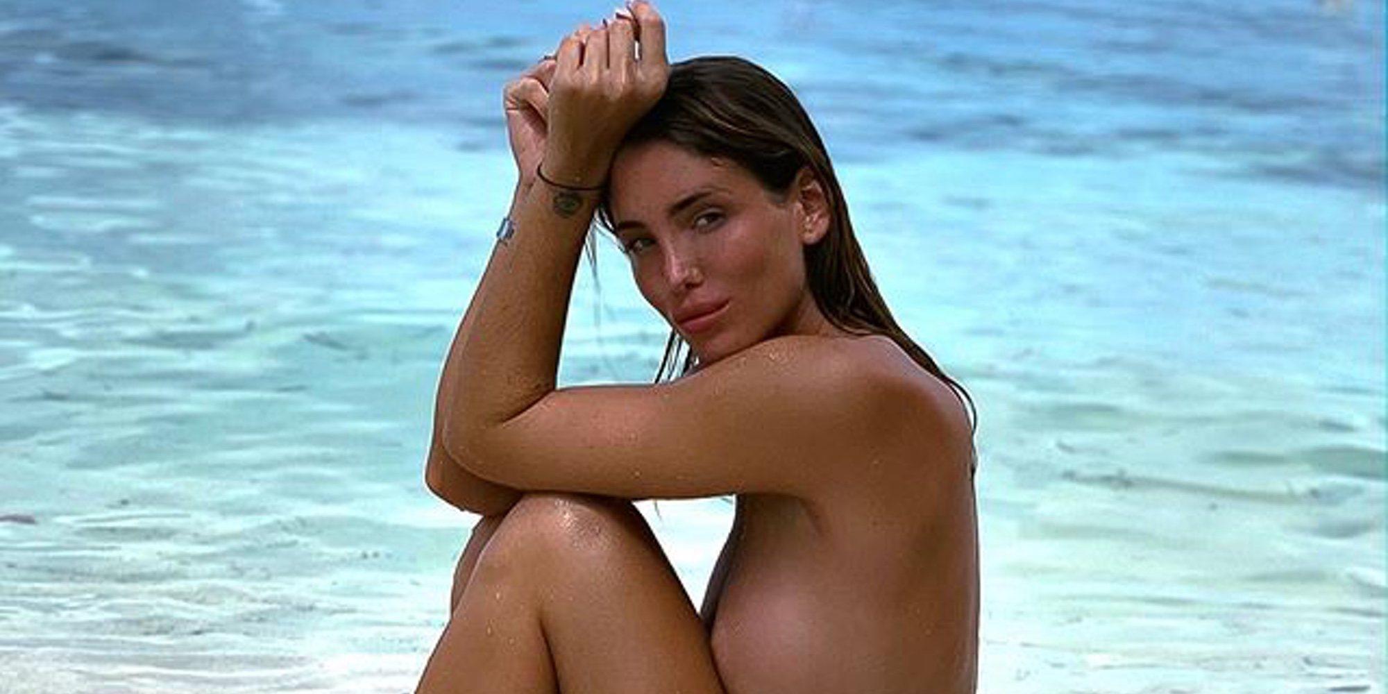 Marta López Álamo, la novia de Kiko Matamoros, se desnuda en su posado más sexy