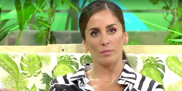'Sálvame' enseña la 'rajada' de Anabel Pantoja contra Gema López cuando cree que nadie la escucha