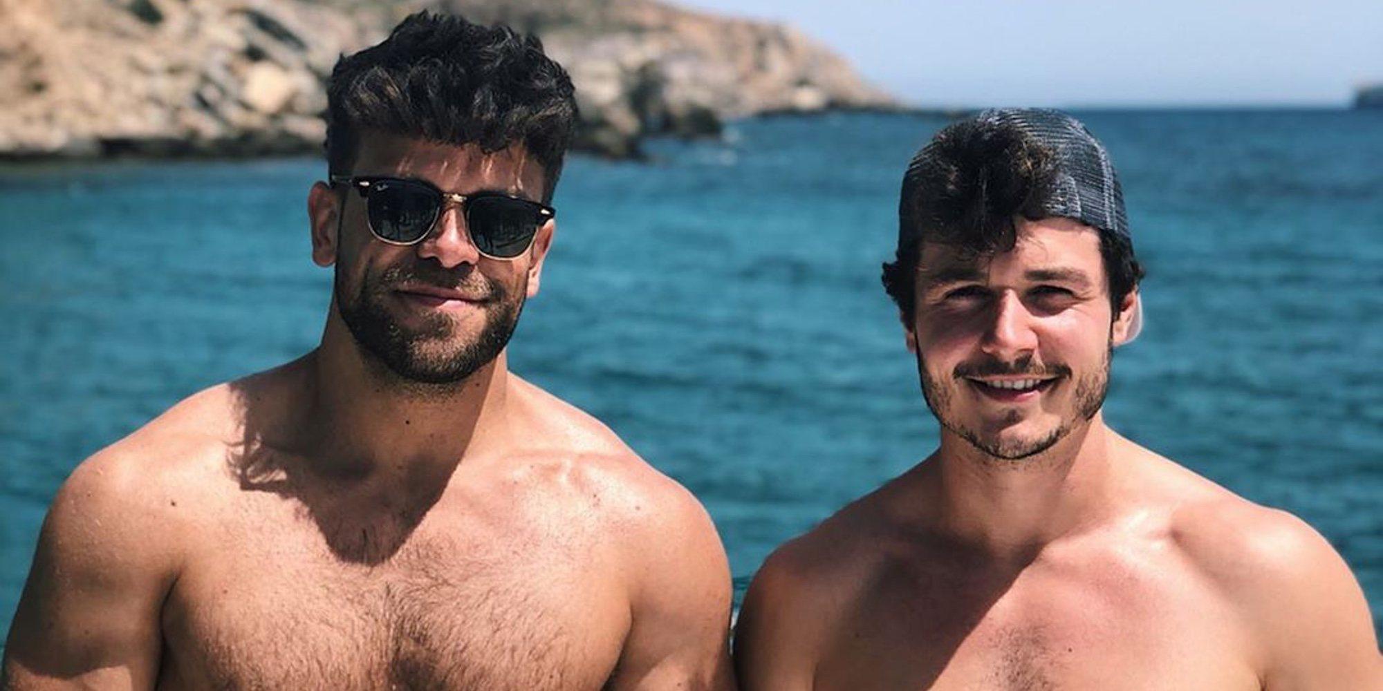 Raoul Vázquez presume de cuerpazo emulando a Ricky Merino y Miki Núñez