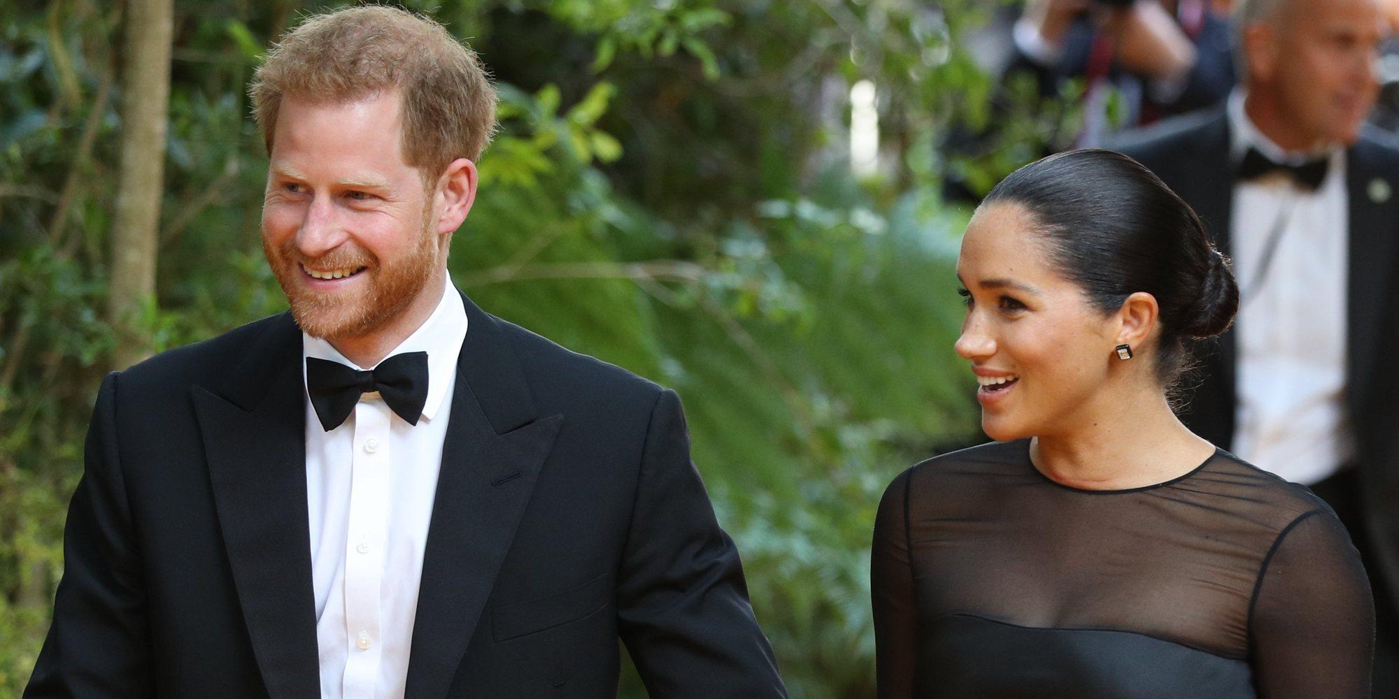 Las exigencias protocolarias del Príncipe Harry y Meghan Markle para asistir a la premiere de 'El Rey León'