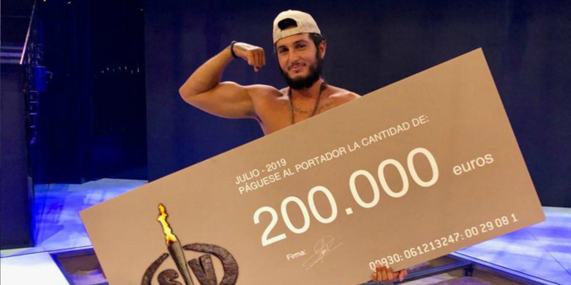 Omar Montes se convierte en el ganador de 'Supervivientes 2019'