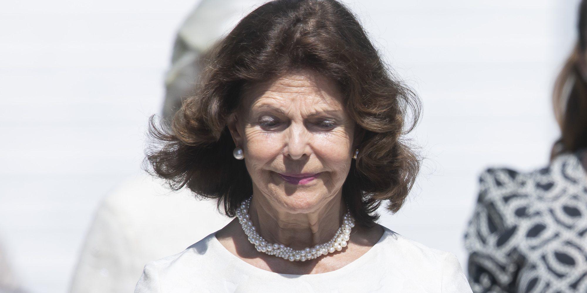 La Reina Silvia de Suecia y la Princesa Magdalena, muy afectadas en el funeral de una amiga