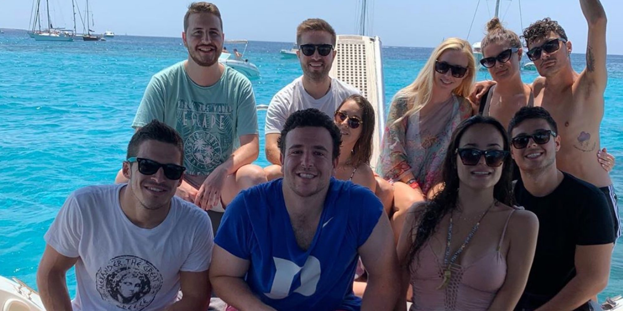 Alex Lequio disfruta de sus vacaciones en Ibiza tras su recuperación