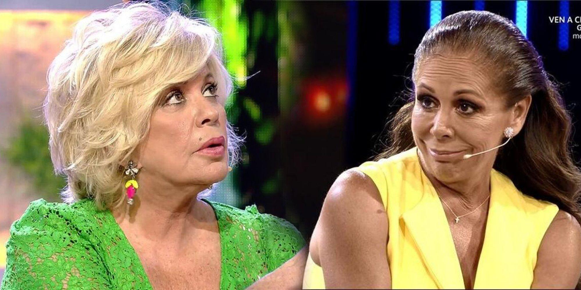 """Bárbara Rey contra Isabel Pantoja: """"Hay personas que rompen matrimonios, con alcalduchos y el pelo grasiento"""""""