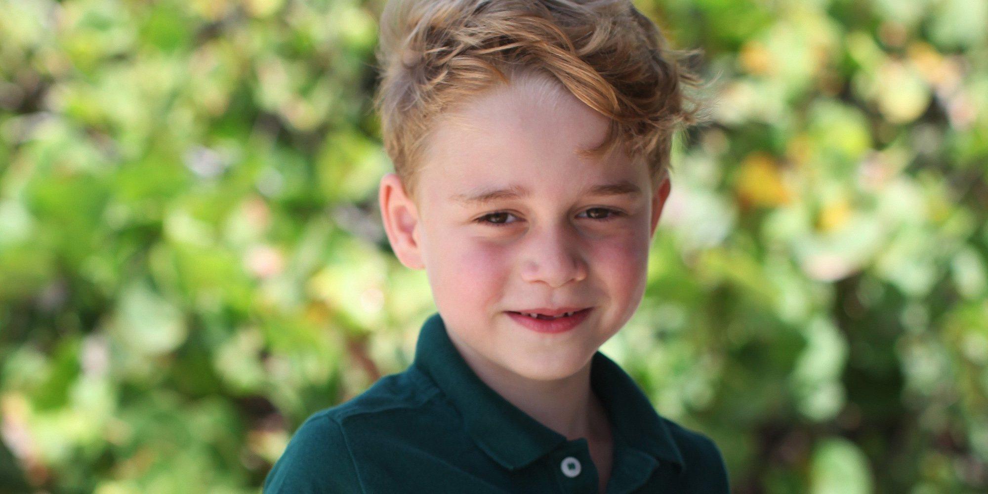 El Príncipe Jorge, más risueño que nunca en su sexto cumpleaños