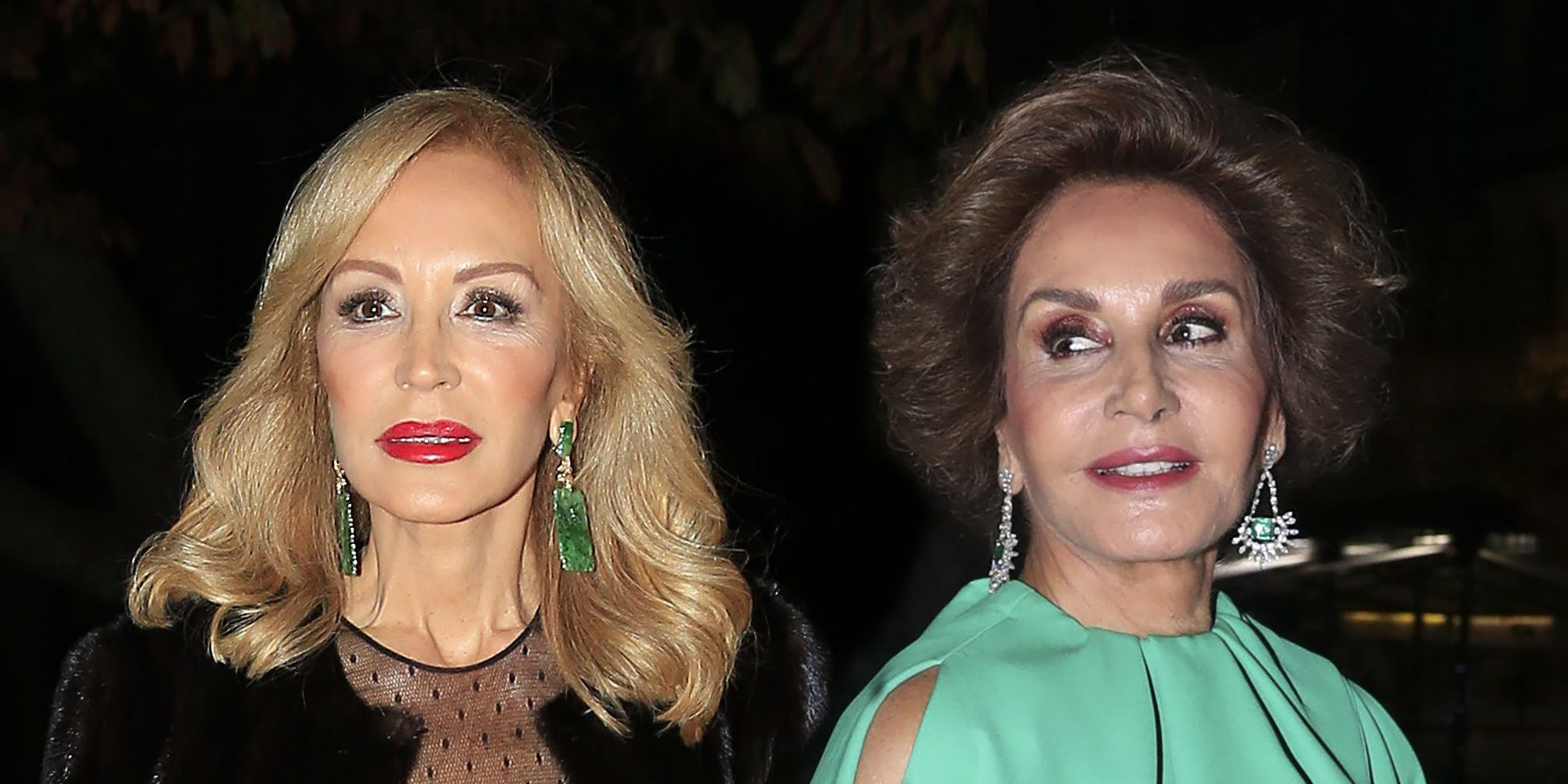 La enemistad de Carmen Lomana y Naty Abascal: dos divas enfrentadas por el trono de la moda
