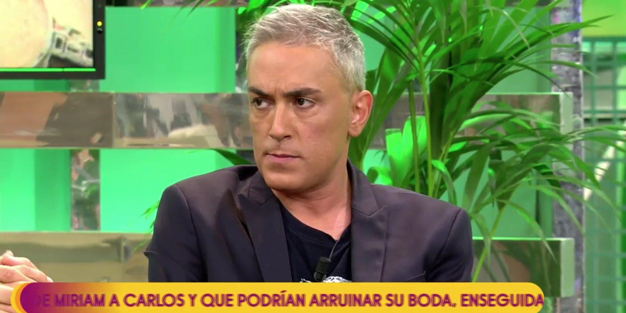 """Kiko Hernández y Anabel Pantoja se enfrentan por la finca de Cantora: """"A la niña se le ha subido"""""""