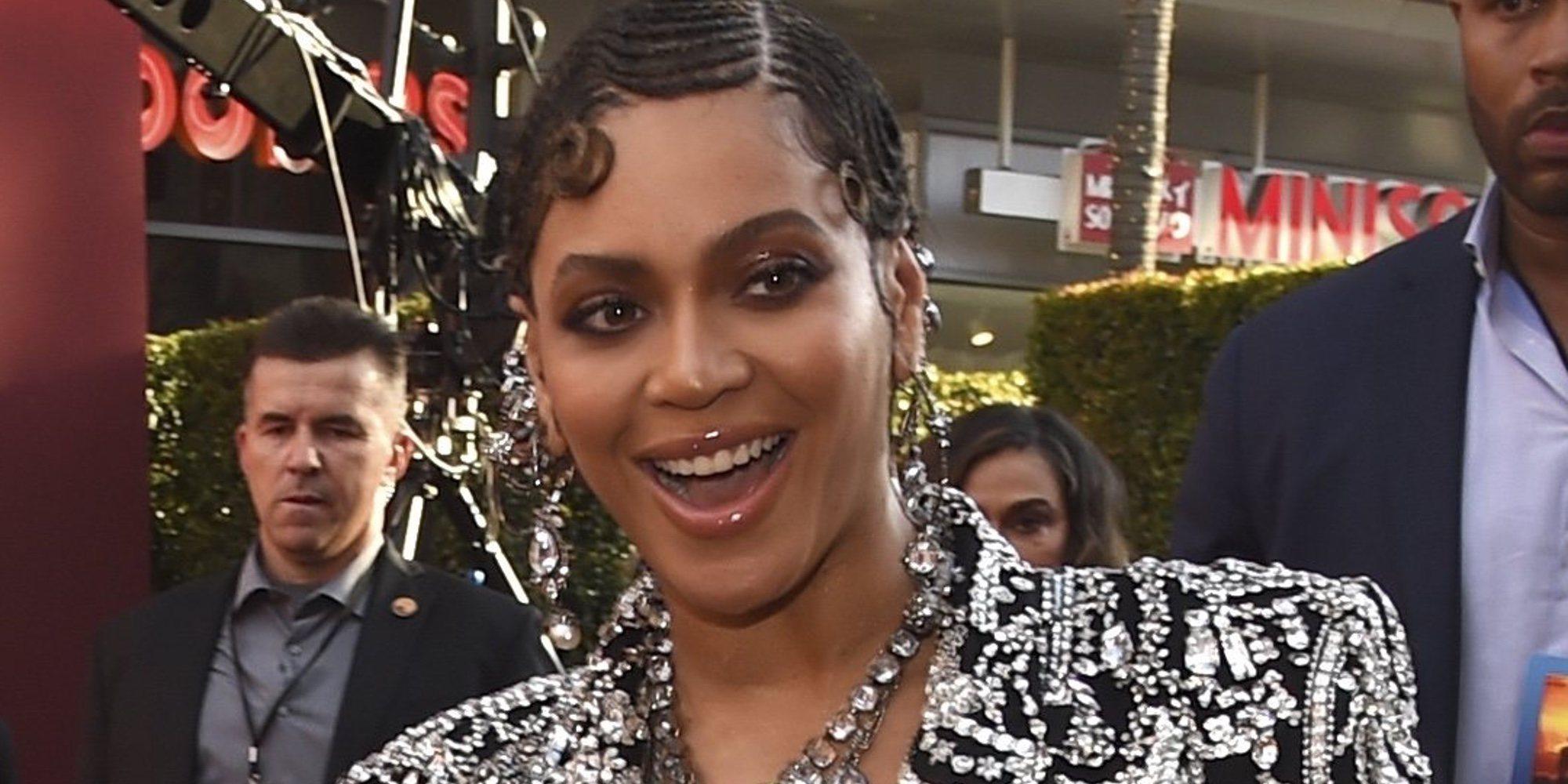 Beyoncé fue incluida con Photoshop en la foto del reparto de 'El Rey León'