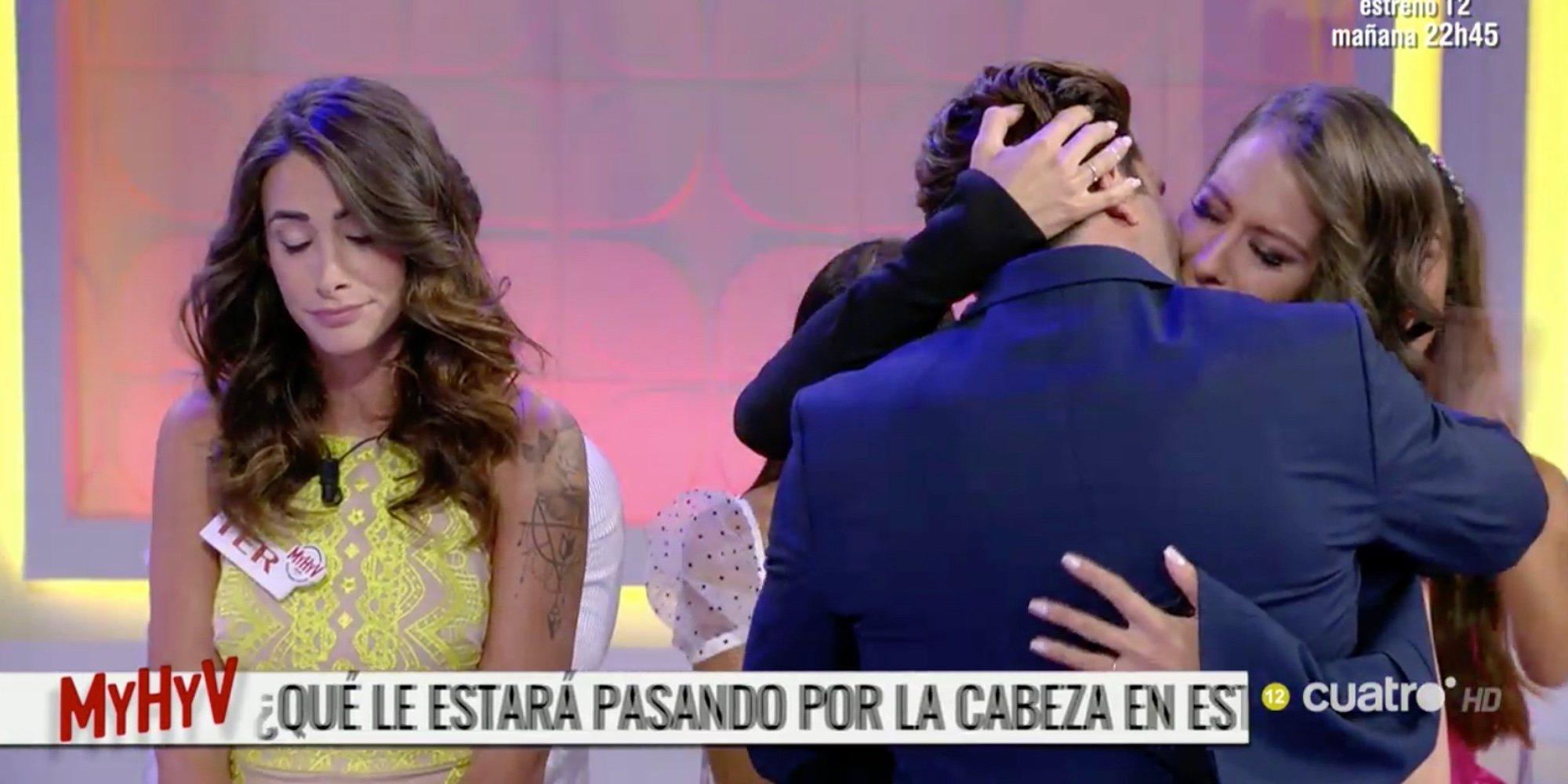 Efrén Reyero y Ana, nueva pareja de 'Mujeres, Hombres y Viceversa'