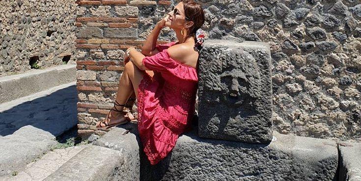 Paula Echevarría y Miguel Torres comienzan sus vacaciones de verano en Nápoles