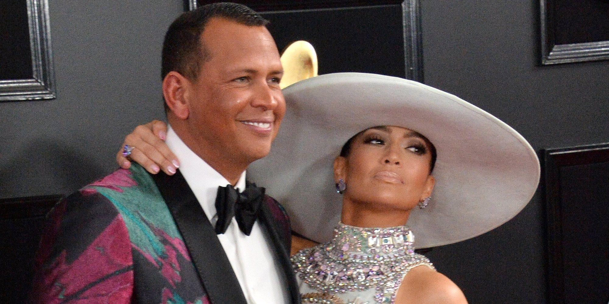 Jennifer Lopez sorprende a Alex Rodriguez con una gran fiesta de cumpleaños