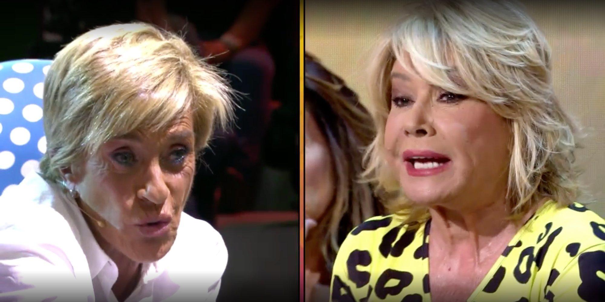 """El duro reencuentro entre Chelo García Cortés y Mila Ximénez: """"Habéis hecho una entrevista que da vergüenza"""""""