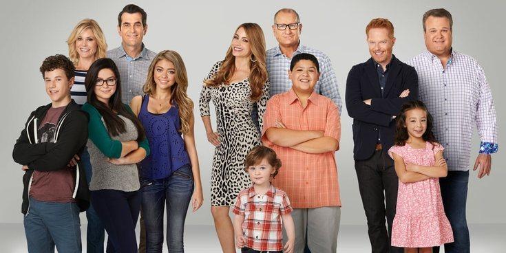 Sofía Vergara se despide de 'Modern Family' enseñando el antes y el después de sus protagonistas