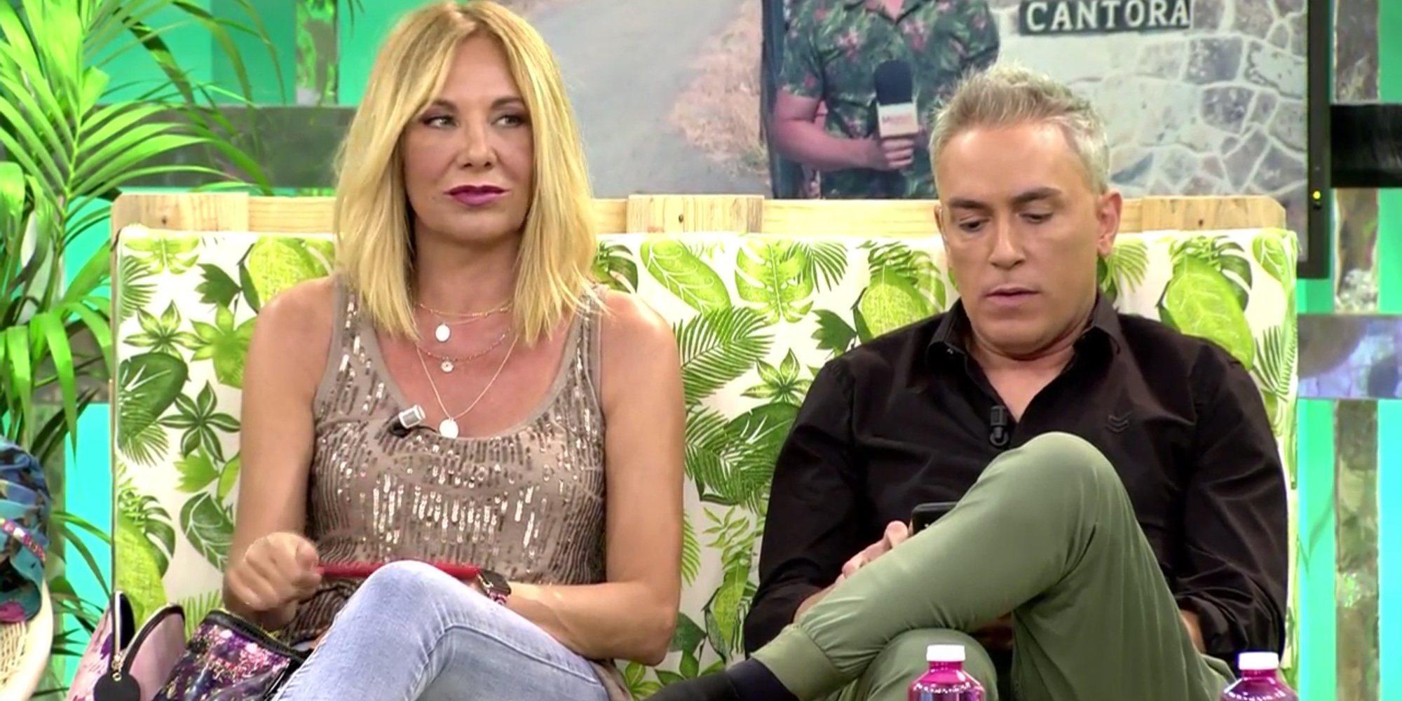 El desplante de Anabel Pantoja a Kiko Hernández y Belén Rodríguez