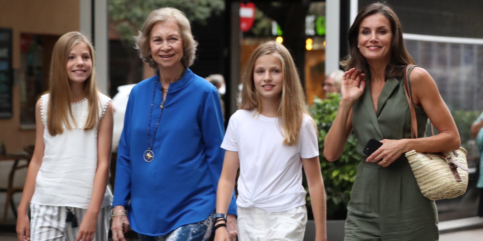 Amor de abuela: La Reina Sofía vuelve a ver 'El Rey León' para ir al cine con la Princesa Leonor y la Infanta Sofía
