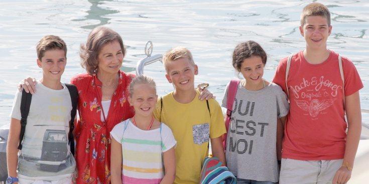 Los Marichalar y Urdangarin que han pasado unas vacaciones en Marivent con los Reyes Juan Carlos y Sofía