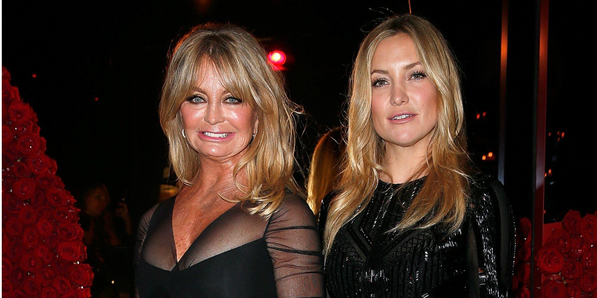 De tal palo, tal astilla: Goldie Hawn y Kate Hudson, más que una relación entre madre e hija