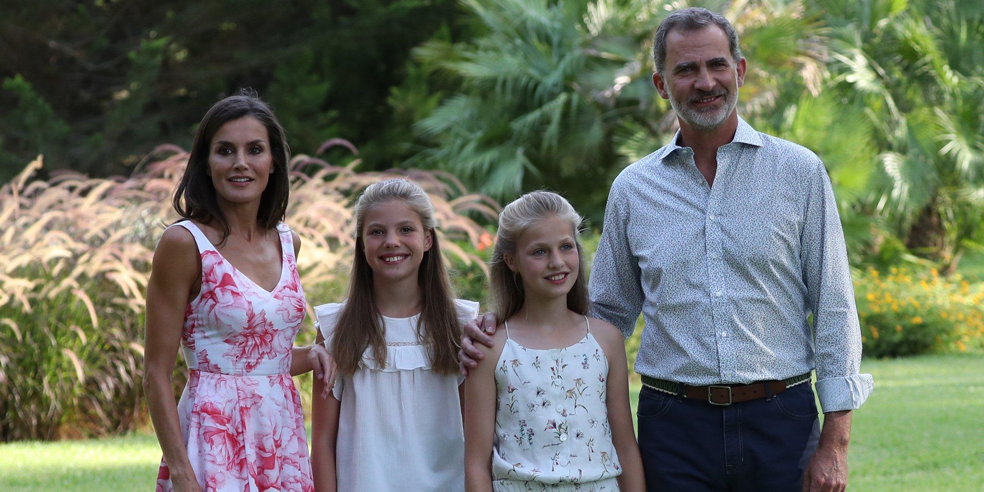 Todo lo que los Reyes Felipe y Letizia, la Princesa Leonor y la Infanta Sofía han dejado claro en su posado en Marivent