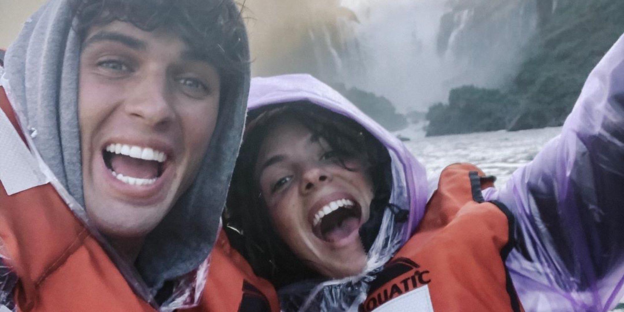 Laura Matamoros disfruta de Argentina con Daniel Illescas lejos de los problemas de salud de su padre
