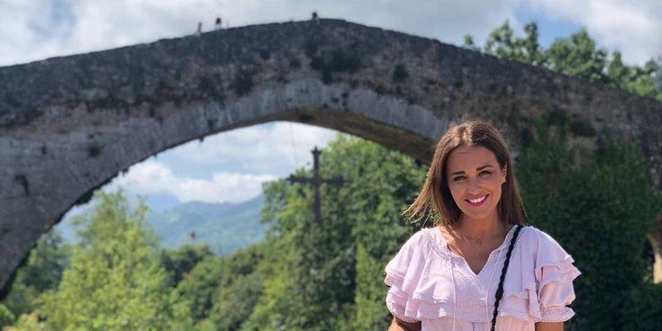 Paula Echevarría presume de Asturias recorriendo sus lugares más emblemáticos en familia