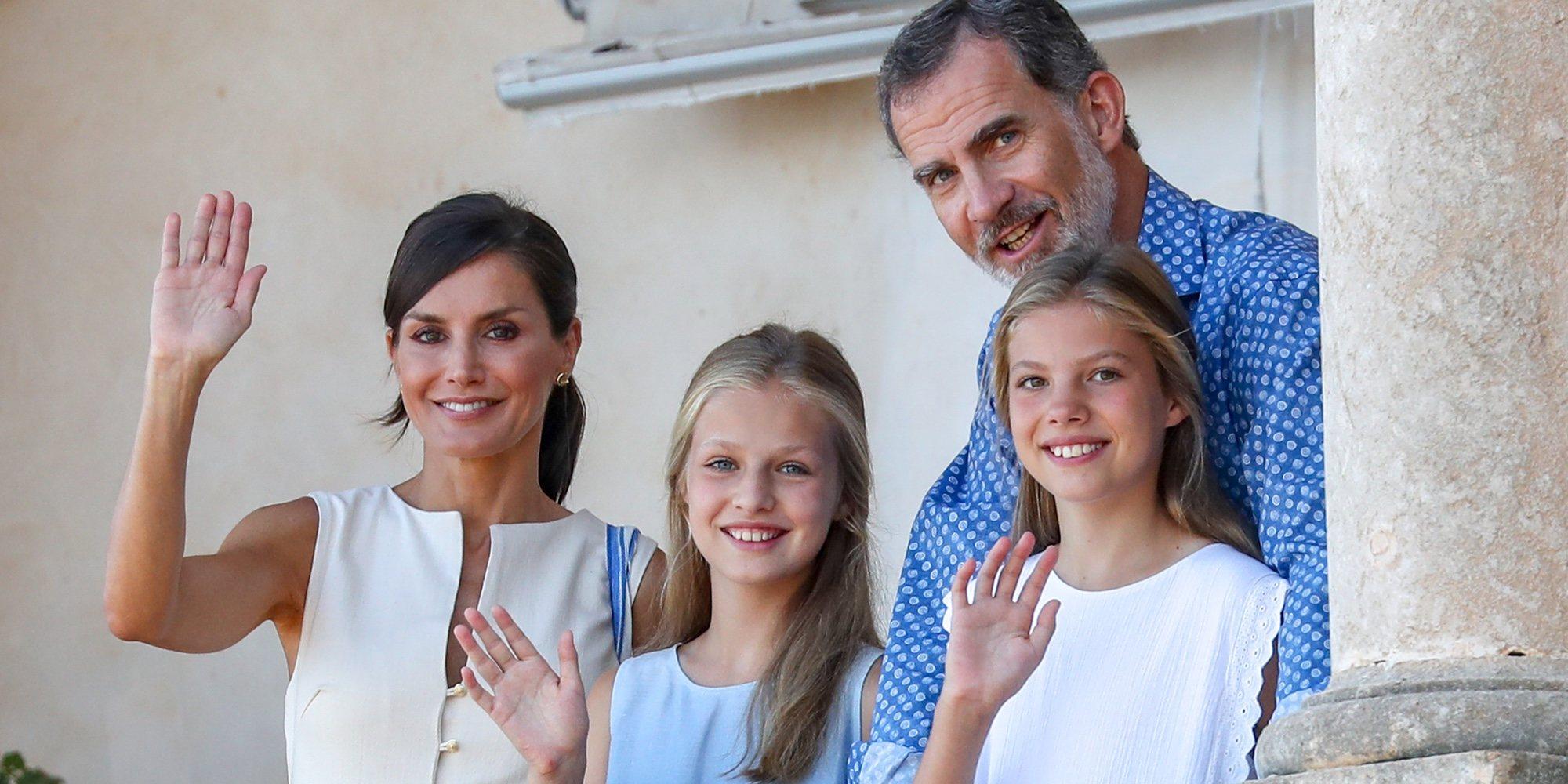 La Princesa Leonor y la Infanta Sofía, cómplices y protagonistas en su visita al Museo Son Marroig de Mallorca