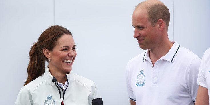 Kate Middleton, la inesperada rival del Príncipe Guillermo en las regatas de la Copa del Rey de Cowes