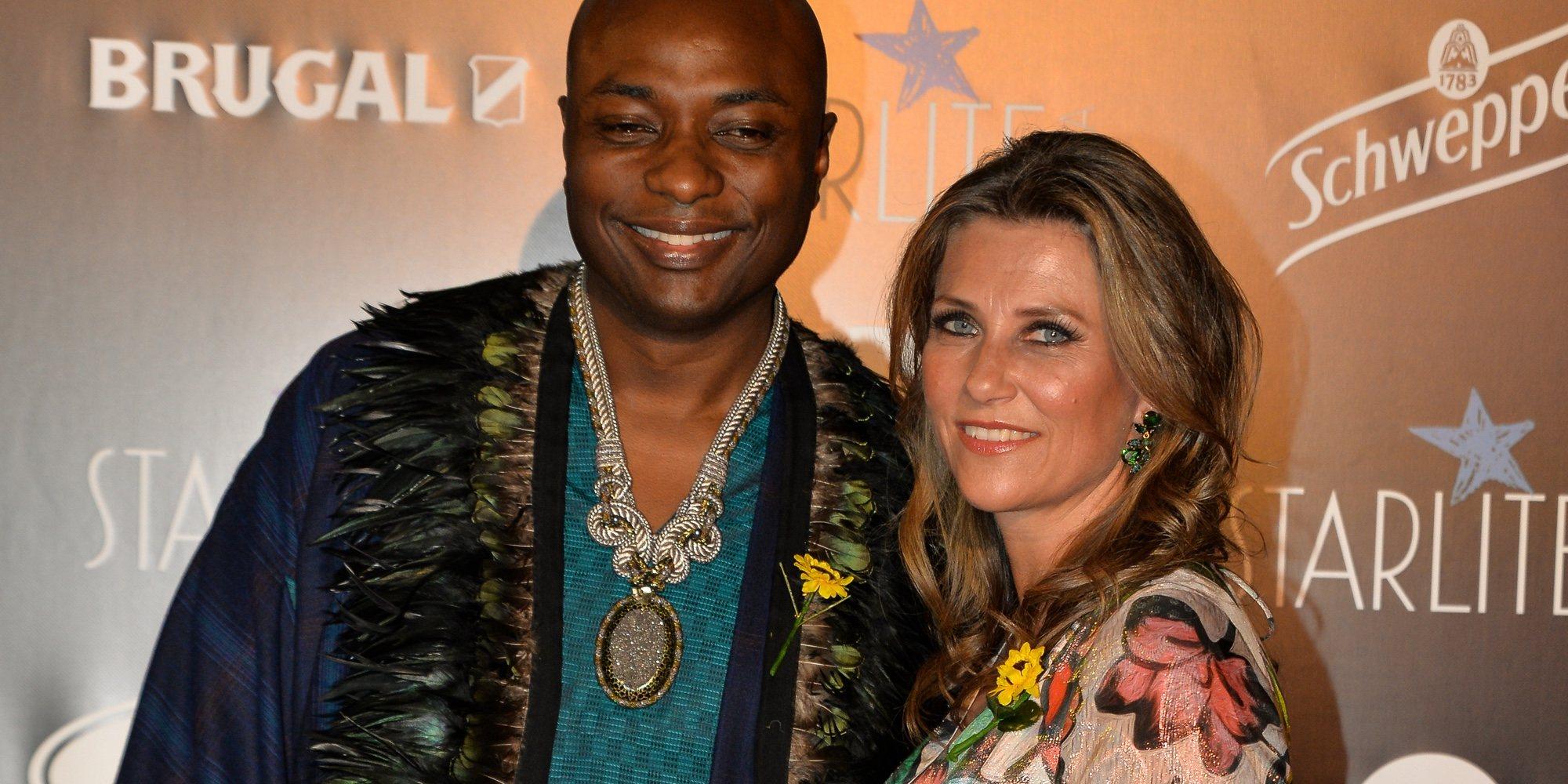 El primer posado de Marta Luisa de Noruega y Shaman Durek como dos estrellas en la Gala Starlite en Marbella
