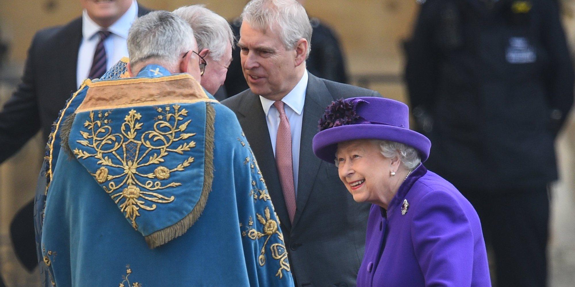 La Reina Isabel podría apoyar al Duque de York tras verse envuelto en un caso delitos sexuales
