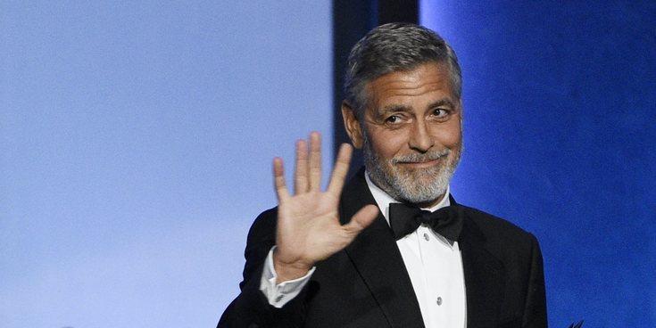George Clooney, acusado de mantener relaciones sexuales con la cómplice Jeffrey Epstein