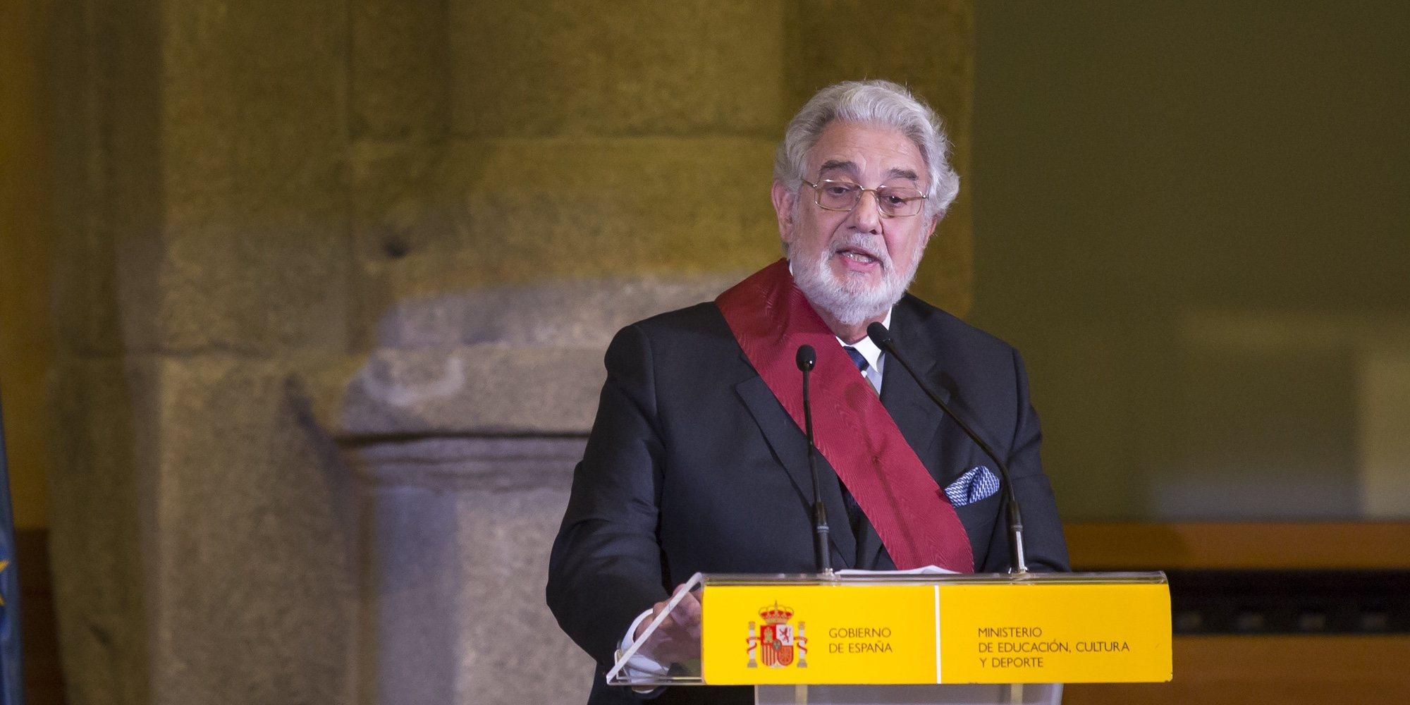"""La Presidenta de la SGAE, Pilar Jurado, defiende a Plácido Domingo de las acusaciones de abuso: """"Es un caballero"""""""