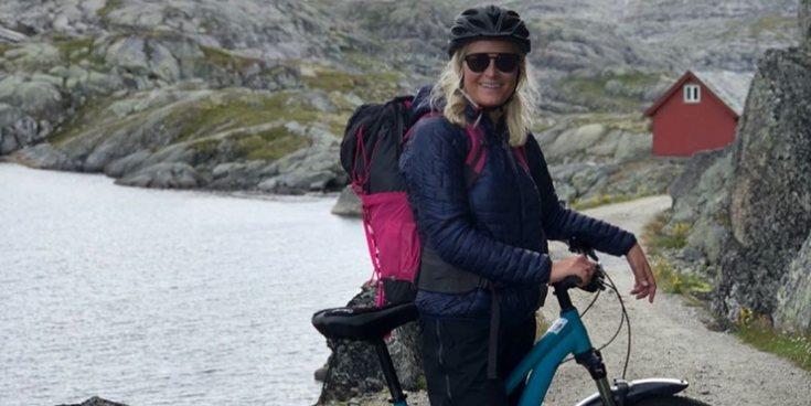 La valentía de Mette-Marit de Noruega en sus vacaciones de aventura